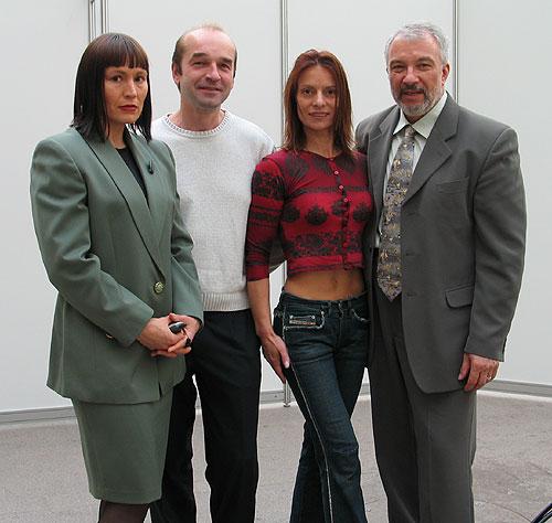 Татяна Ковалько (в центре)